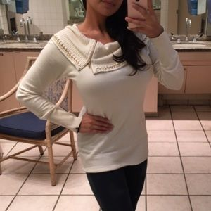 Bebe sweater white